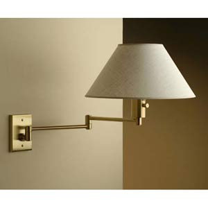 Imago Pared Brushed Brass Wall Sconce