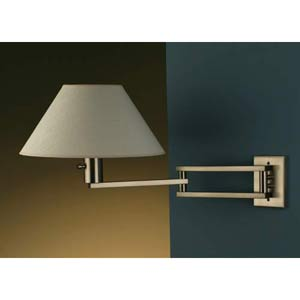 Master Brushed Nickel Wall Sconce