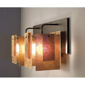 Spider Mica Two-Light Sconce