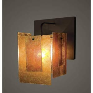 Spider Mica One-Light Sconce