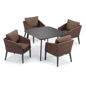 Salino Multicolor Patio Dining Set, 5-Piece
