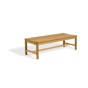 Oxford Natural Outdoor Backless Bench