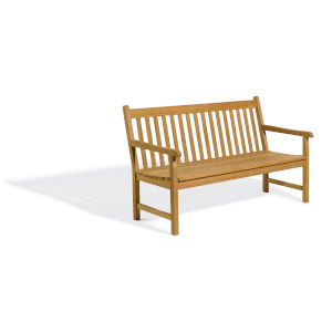 Classic Natural 61-Inch Outdoor Bench