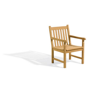 Classic Natural Patio Arm Chair