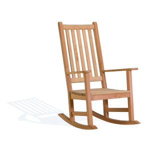 Classic Natural Patio Rocking Chair