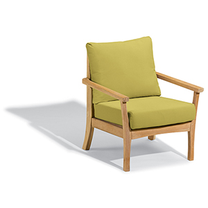 Mera Club Chair with Peridot Cushions