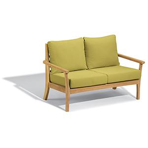 Mera Loveseat with Peridot Cushions