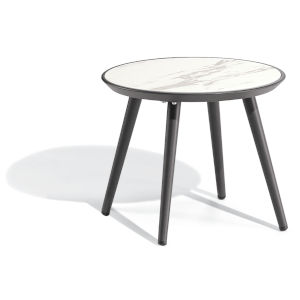 Nette Carbon Patio End Table