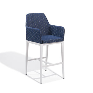 Oland Spectrum Indigo Bar Chair