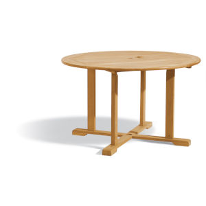 Oxford Natural Outdoor Round Dining Table
