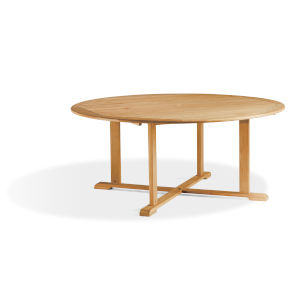 Oxford Teak 67-Inch Round Dining Table