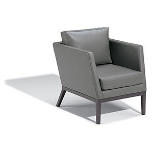 Salino Nauticau Nickel Club Chair