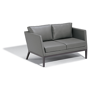 Salino Nauticau Nickel Loveseat