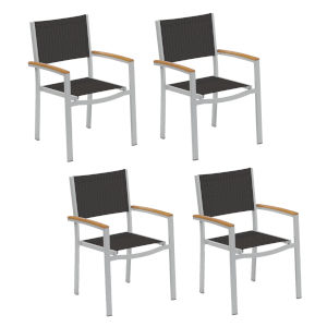 Travira Ninja Sling Armchair Chair - Set of 4