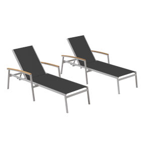 Travira Ninja Sling Chaise Lounge - Set of 2