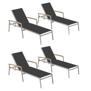 Travira Ninja Sling Chaise Lounge - Set of 4