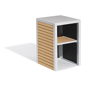 Travira Tekwood Natural Modular Valet Hutch