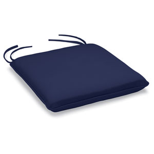 Islay Bar Chair Cushion - Navy Blue Sunbrella