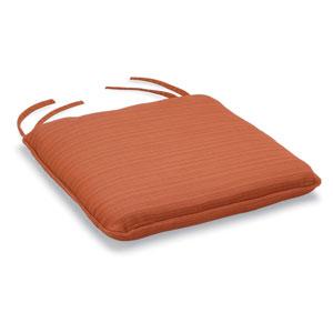Islay Bar Chair Cushion - Dupione Papaya Sunbrella