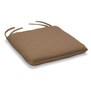 Islay Bar Chair Cushion - Dupione Walnut Sunbrella