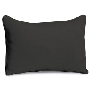 Lumbar Pillow - Jet Black Polyester
