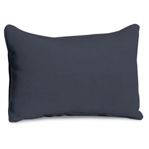 Lumbar Pillow - Midnight Blue Polyester