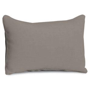 Lumbar Pillow - Stone Polyester