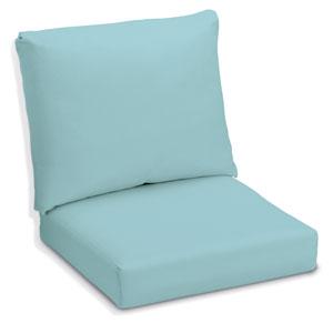 Sunbrella Cushion for Siena Chairs and Sofa - Mineral Blue Sunbrella® Fabric