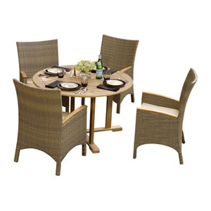 Oxford Natural Shorea 9-Piece Dining Set