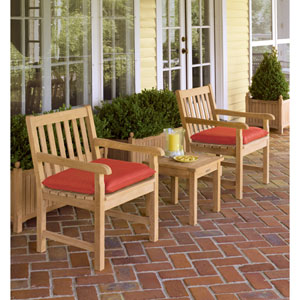 Classic - 3-Piece Chat Set - Natural Shorea - Hunter