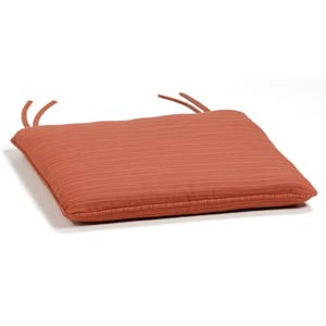 Adirondack Dupione Papaya Chair Cushion