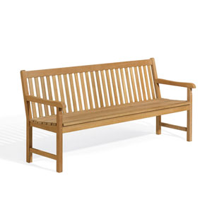 Classic Six-Inch Outdoor Bench