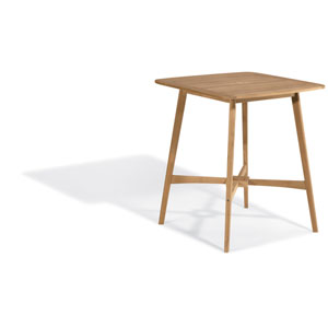Islay 36-Inch Square Bar Table - Natural Shorea
