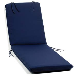 Oxford Navy Chaise Cushion