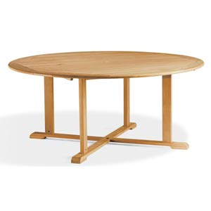 67-Inch Round Dining Table
