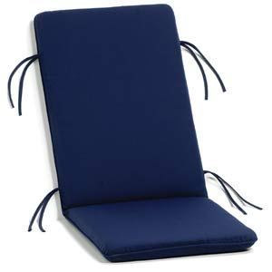 Siena Navy Armchair Cushion