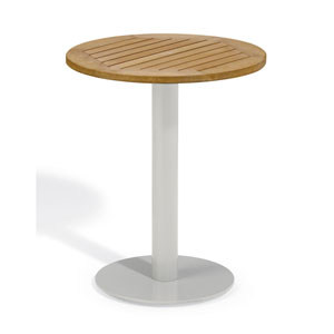 Travira 24-Inch Natural Tekwood Bistro Table