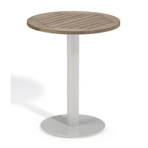 Travira 24-Inch Vintage Tekwood Bistro Table