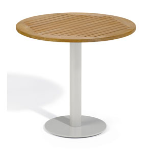 Travira 32-Inch Natural Tekwood Bistro Table