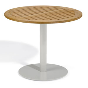 Travira 36-Inch Natural Tekwood Bistro Table