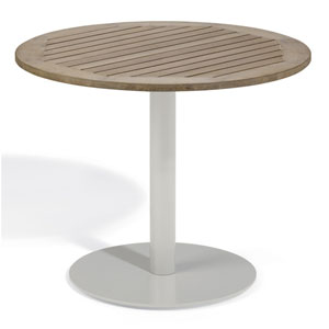 Travira 36-Inch Vintage Tekwood Bistro Table