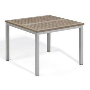 Travira 39-Inch Vintage Tekwood Dining Table