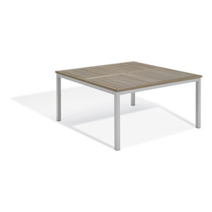 Travira Vintage Tekwood 60-Inch Square Dining Table