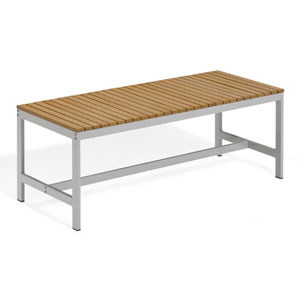 Travira 48-Inch Natural Tekwood Backless Bench