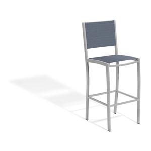Travira Bar Chair with Titanium Sling Seats