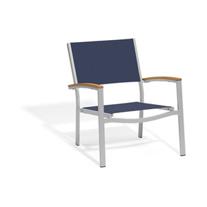 Travira Ink Pen Sling Seats Chat Chair Set of 2