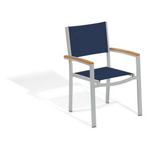 Travira Ink Pen Sling Seats Arm Chair Set of 2