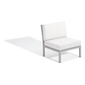 Travira Modular Side Chair - Eggshell White