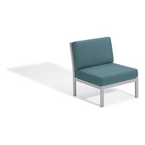 Travira Modular Side Chair - Ice Blue