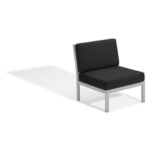 Travira Modular Side Chair - Jet Black
